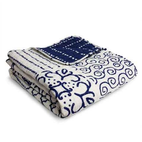 The Curated Nomad Carnation Throw Blanket