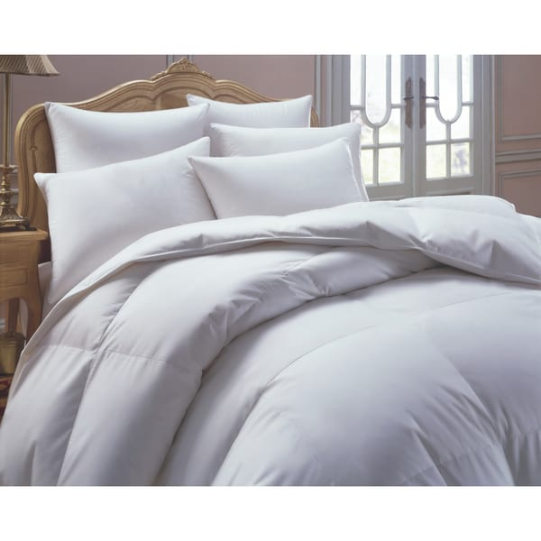 European Heritage Down Allure Oversized All Year Weight White Down Comforter
