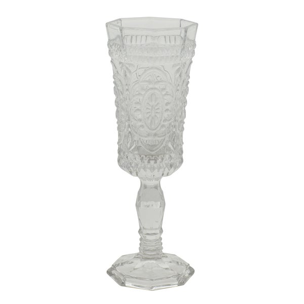 10 Strawberry Street Vatican Clear Flute Glass (Set of 6)