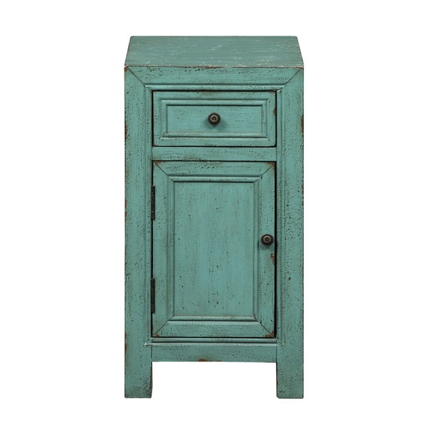 Christopher Knight Home Bayberry Blue Rub-through Cabinet