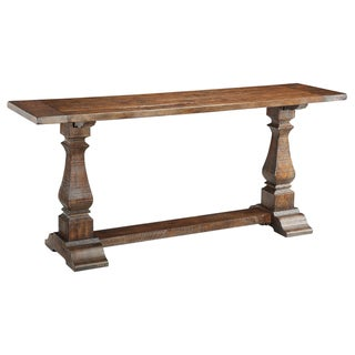 Christopher Knight Home Rustic Brown Console Table