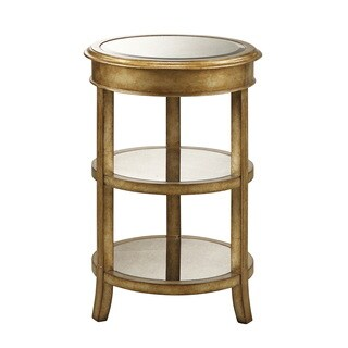 Gold Round Coffee Console Sofa & End Tables For Less
