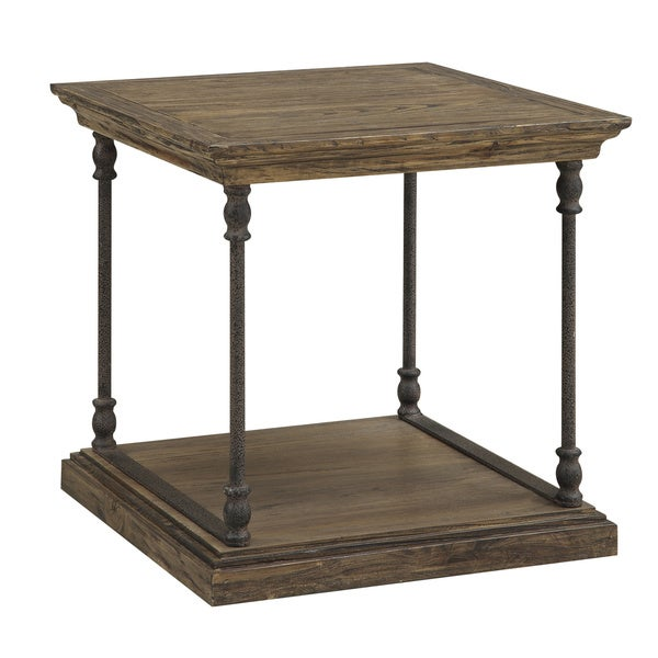 Christopher knight home hylas medium brown end table