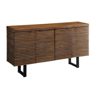 Christopher Knight Home DeWiltt Rustic Brown 4-door Credenza