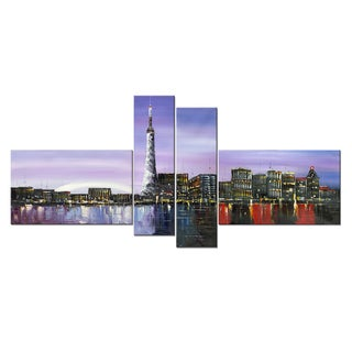 Toronto Landscape Art on Canvas 60 inches x 32 inches