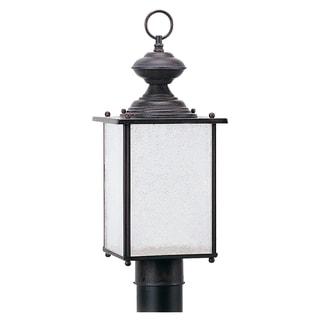 1-light Outdoor Jamestowne Post Lantern