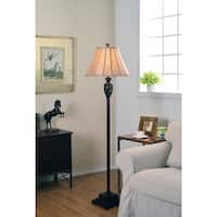 Design Craft Vetaio 63-inch Light Gold Shade Floor Lamp