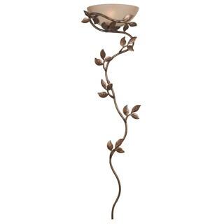 Goldtone and Light Amber Leaf-vine Wallchiere