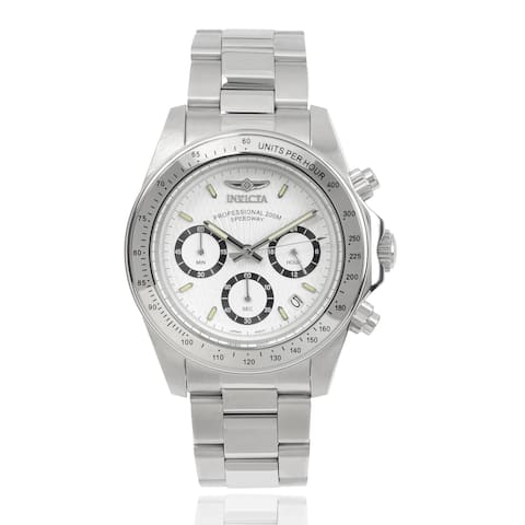 Invicta Men's 7025 'Signature' Chronograph Stainless Steel Watch