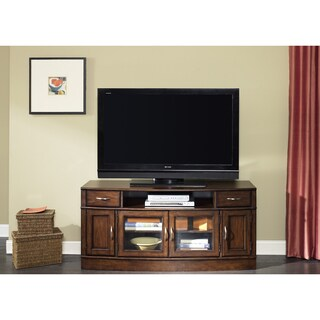 Hanover Cherry Spice Entertainment TV Stand