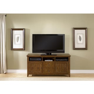 Liberty Hearthstone Oak TV Stand