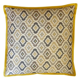 Mineral Taupe Square Decorative Pillow