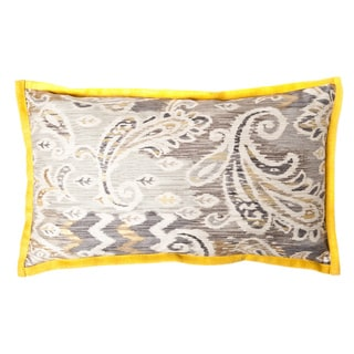 Passion Taupe Yellow Long Decorative Pillow