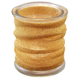Gold Metallic Wrapped Glass Candle Holders (Set of 4)|https://ak1.ostkcdn.com/images/products/9623513/P16809958.jpg?impolicy=medium