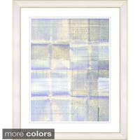 Studio Works Modern 'White Madrigal' Framed Fine Art Print