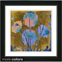 Studio Works Modern 'Fugue Floral' Framed Fine Art Print