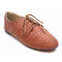 BLUE Women's 'Sondra' Perforated Oxford Shoes