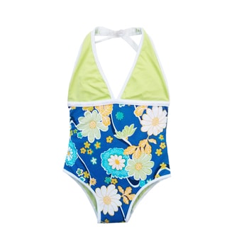 Azul Swimwear Girls' Nod to Mod One Piece