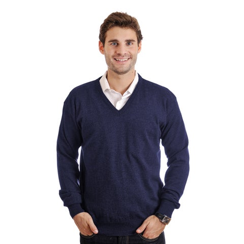 Braga Men's Pure Merino Wool Sweater