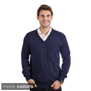 Braga Men's Pure Merino Wool Sweater|https://ak1.ostkcdn.com/images/products/9623754/P16810182.jpg?impolicy=medium