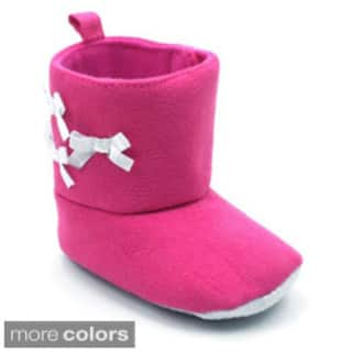 Blue Baby's 'P-Tribow' Infant Girl Mid-calf Boots|https://ak1.ostkcdn.com/images/products/9623769/P16810168.jpg?impolicy=medium