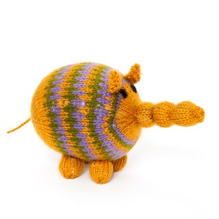Sitara Collections Handmade Plush Elephant (India)