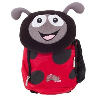 Cuties and Pals Polka Ladybug Kids Soft Backpack