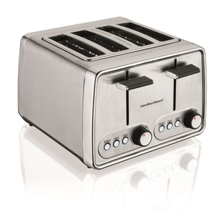 Hamilton Beach Chrome Cool Touch 4-slice Toaster