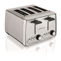 Hamilton Beach Chrome Cool Touch 4-slice Toaster - Stainless Steel
