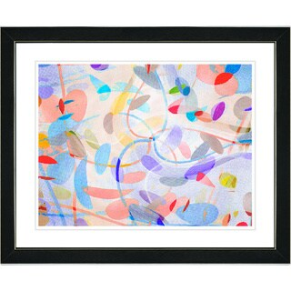 Studio Works Modern 'Screwed Moves Series' Framed Fine Art Print (More options available)