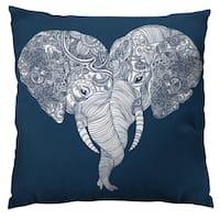 Punch Trunk Love Throw Pillow