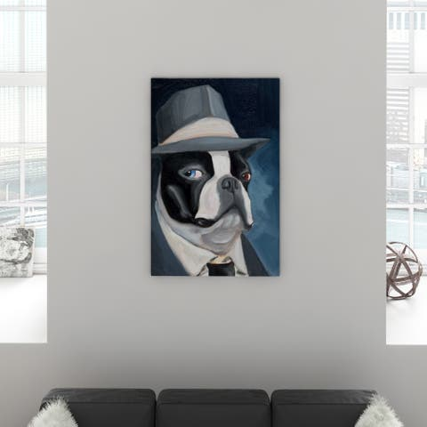 Carbon Loft Brian Rubenacker BT Blue Eyes Canvas Print Wall Art