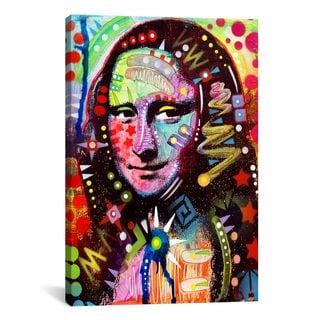 iCanvas Dean Russo Mona Lisa Canvas Print Wall Art