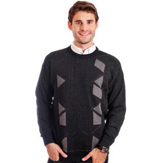 Cooper Men's Merino Wool Blend Crew Neck Sweater