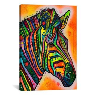 iCanvas Dean Russo Zebra Canvas Print Wall Art