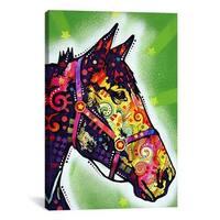iCanvas Dean Russo Horse Canvas Print Wall Art