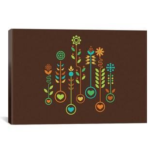 iCanvas Budi Satria Kwan Love Garden Canvas Print Wall Art