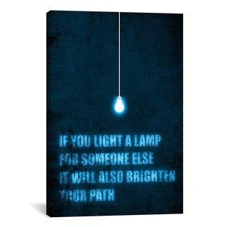 iCanvas Budi Satria Kwan Light a Lamp Canvas Print Wall Art