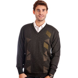 Cooper Men's Merino Wool-blend V-neck Sweater