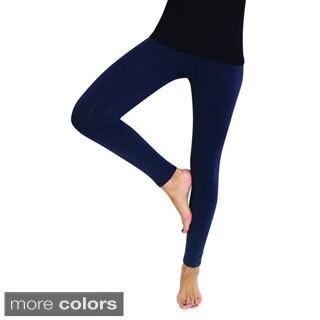 MeMoi Women's Cotton High Waist Pajama Yoga Leggings (3 options available)