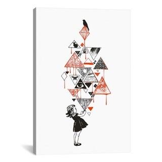 iCanvas Budi Satria Kwan Diamond Canvas Print Wall Art