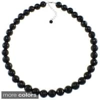 Pearlz Ocean Faceted Bead Necklace