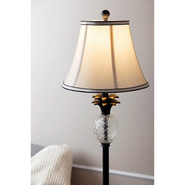 Abbyson Alexandra Antiqued Bronze Pineapple 61-inch Floor Lamp