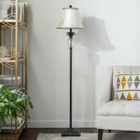 Abbyson Alexandra Antiqued Bronze Pineapple Floor Lamp