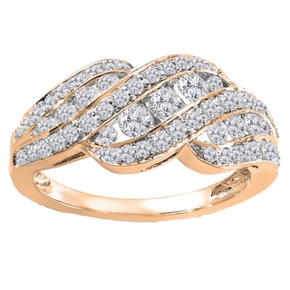 1ct TDW 14k White Gold 1ct TDW Diamond Ring (H-I, I1-I2)