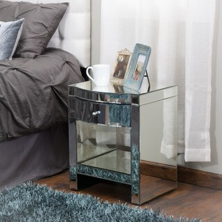 Roxie Mirrored End Table by Christopher Knight Home