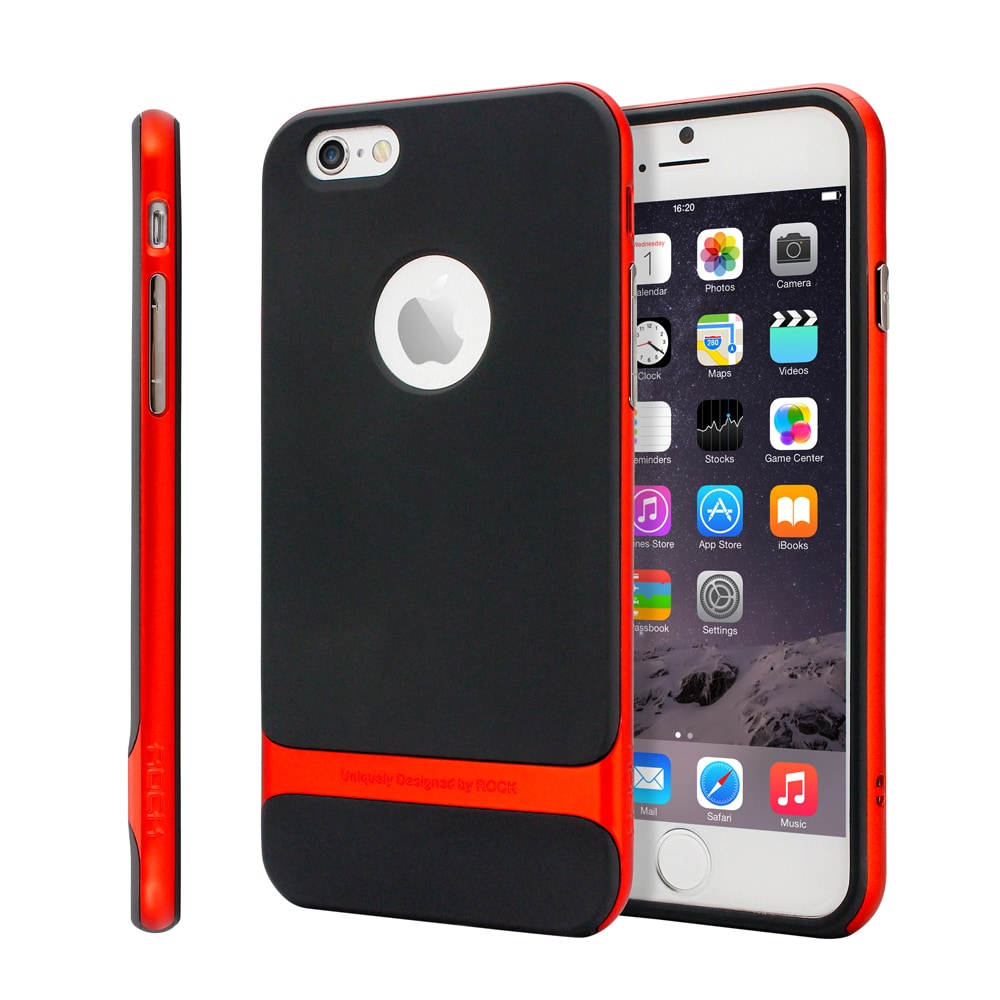 Gearonic Hard Bumper Rubber Case Cover for Apple iPhone 6...