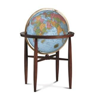 Finley Illuminated Floor Standing Globe