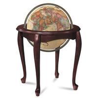Queen Anne Illuminated Floor World Globe