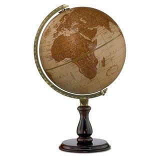 Leather Expedition Desktop Globe